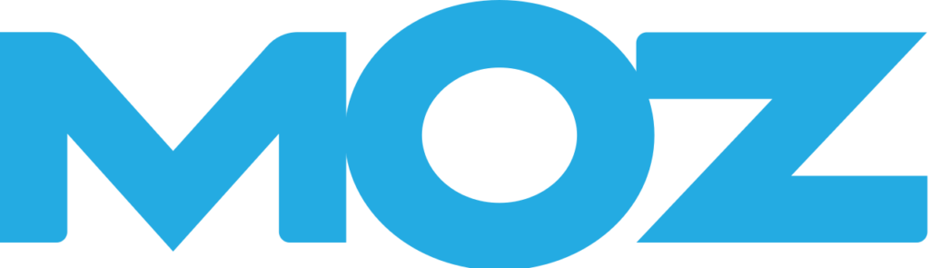 Featured on MOZ - MOZ transparent logo
